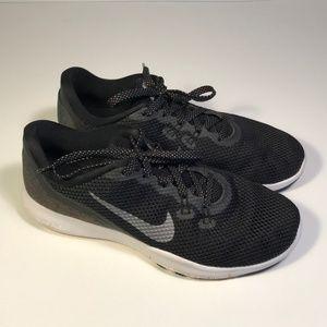 Nike Flex TR 7 Black Running Shoes Women 9